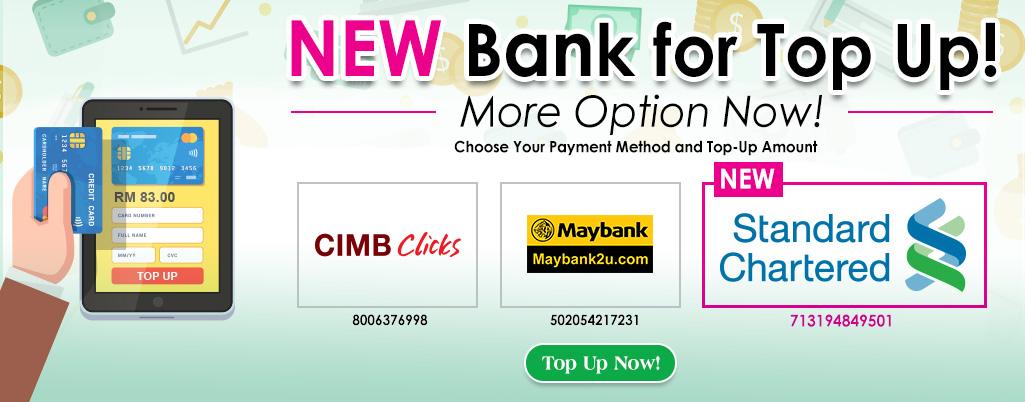 New Bank Option - Standard Chartered Bank