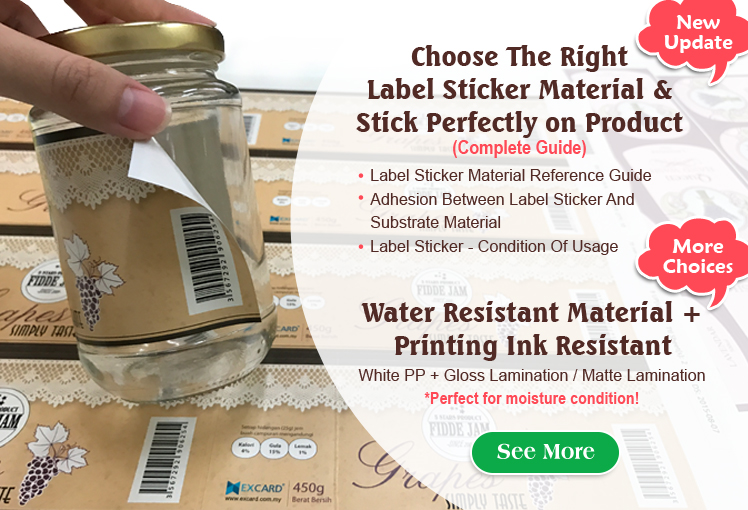 Label Sticker - Choose The Right Material (Complete Guide)