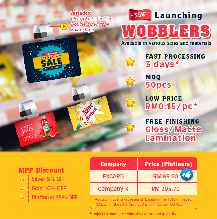 Wobblers Launching Now