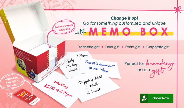 NEW IN: Memo Box launches today