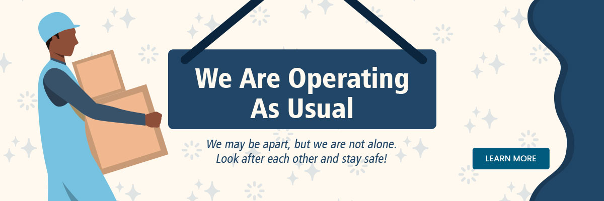 We are operating as usual