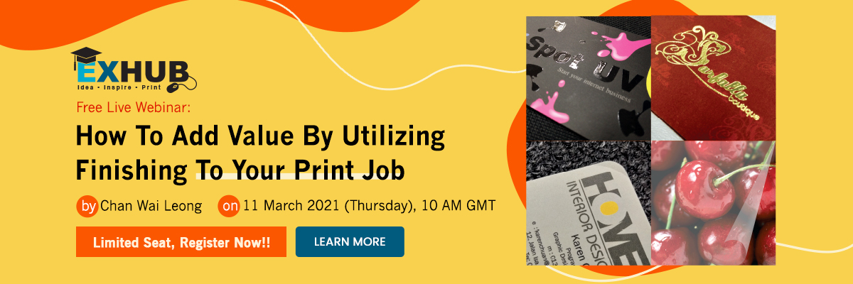 Free Live Webinar: How To Add Value By Utilizing Finishing To Your Print Job